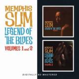 Memphis Slim - Legend of the Blues 1&2 ( 1 CD ) - Muzica Blues