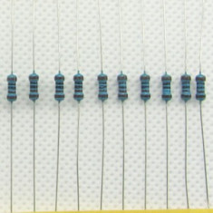 10 buc * Rezistor 2.2KΩ 2.2Kohm 1/4W 0.25W 1% Rezistori Rezistenta Metal Film