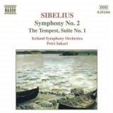 J. Sibelius - Symphony No.2 - Tempest ( 1 CD ) - Muzica Clasica