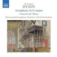 G. Dyson - Symphony In G ( 1 CD ) - Muzica Clasica
