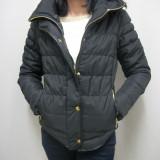 Jacheta moderna, de culoare neagra shic (Culoare: NEGRU, Marime: L-40)