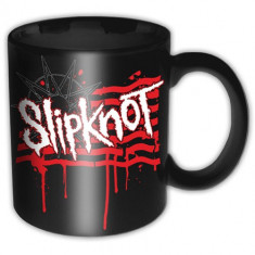 Cana Slipknot - Dripping Flag & Logo