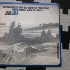 Antologie in dialect svabesc santem svabii din banat schwowe disc vinyl lp - Muzica soundtrack electrecord, VINIL