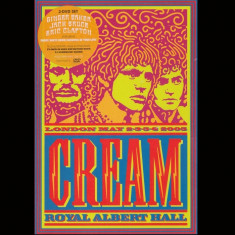 Cream - Royal Albert Hall ( 2 DVD )