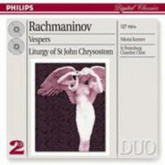 S. Rachmaninov - Vespers ( 2 CD ) - Muzica Clasica