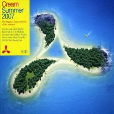 Artisti Diversi - Cream Summer 2007 -60tr- ( 3 CD ) - Muzica Dance