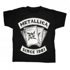 Tricou Copii Metallica - Dealer, Marime: L