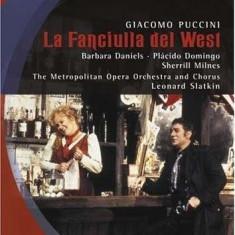 The Metropolitan Opera - Giacomo Puccini: La Fanciulla del West ( 1 DVD ) - Muzica Opera