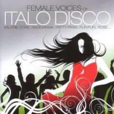 Artisti Diversi - Female Voices of Italo Disco ( 1 CD ) - Muzica Dance