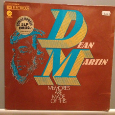 DEAN MARTIN - MEMORIES ARE MADE OH THIS - 2LP SET (1969/EMI REC/RFG) - Vinil - Muzica Pop emi records