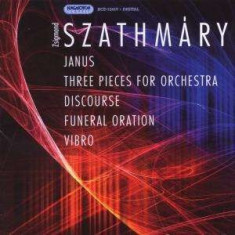 Szathmary - Janus, Three Pieces For O ( 1 CD ) - Muzica Clasica