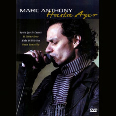 Marc Anthony - Hasta Ayer ( 1 DVD ) - Muzica Latino