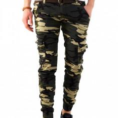 Pantaloni tip Zara camuflaj - COLECTIE NOUA - pantaloni barbati - 7902H3, Marime: 29, 30, 32, 33, 34, 36, Culoare: Din imagine