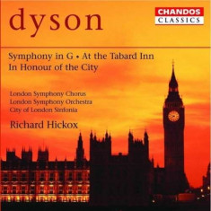 G. Dyson - Symphony In G/At Tabard Inn/+ ( 1 CD ) - Muzica Clasica