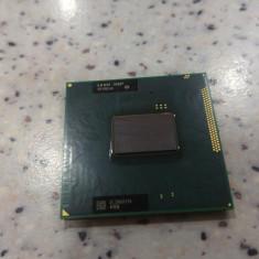 Procesor laptop intel i3-2370M sandy bridge 2.40 Ghz, testat, socket G2, Intel 2nd gen Core i3, 2000-2500 Mhz, Numar nuclee: 2