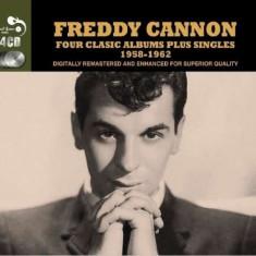 Freddy Cannon - 4 Classic Albums Plus.. ( 4 CD ) - Muzica Rock & Roll