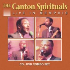 Canton Spirituals - Live In Memphis ( 1 CD + 1 DVD ) - Muzica R&B