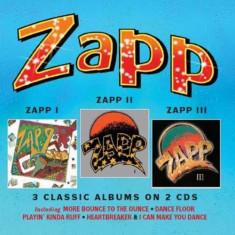 Zapp - Zapp I/Zapp Ii/Zapp Iii.. ( 2 CD ) - Muzica R&B