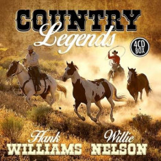 Hank Williams - Country Legends ( 4 CD ) - Muzica Country