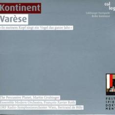 E. Varese - Kontinent Varese ( 1 CD ) - Muzica Clasica