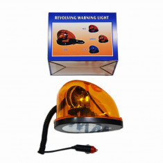 Girofar auto BestAutoVest orange 12V cu bec de 5W, tip lacrima cu fixare magnetica