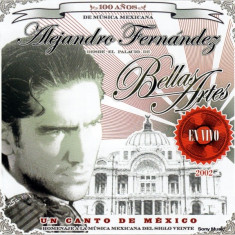 Alejandro Fernandez - Un Canto de Mexico ( 2 CD ) - Muzica Latino