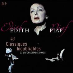 Edith Piaf - 23 Classiques.. ( 2 VINYL ) - Muzica Ambientala