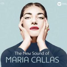 Maria Callas - New Sound Of Maria Callas ( 3 CD ) - Muzica Opera