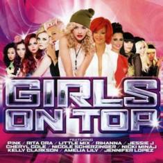 V/A - Girls On Top ( 2 CD ) - Muzica Dance