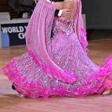 Rochie standard de dans sportiv - Costum dans, Culoare: Roz