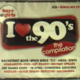 V/A - I Love the 90's-Boys &.. ( 3 CD ) - Muzica Pop
