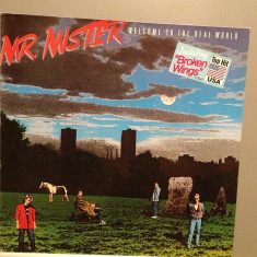 MR.MISTER - WELCOME TO THE REAL WORLD(1985/RCA REC/RFG) -Vinil/POP/Impecabil(NM) - Muzica Pop rca records
