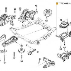 Surub M10 Duster 31651