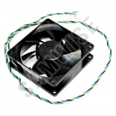 Ventilator 80mm Mufa 4-pin control de turatie PWM lungime fir 60cm - Cooler PC, Pentru carcase