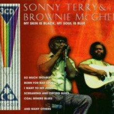 Sonny Terry - My Skin is Black My Soul. ( 3 CD ) - Muzica Blues