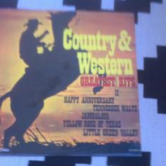 Country and Western Greatest Hits volumul II disc vinyl lp muzica electrecord
