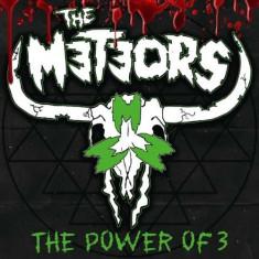 Meteors - Power of 3 ( 1 VINYL ) - Muzica Rock & Roll