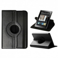 HUSA KINDLE FIRE 7.5 INCH CU STAND ROTATIVA 360 NEAGRA - Tableta Kindle Fire