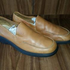Pantofi din PIELE NATURALA facuti in Spania marimea 43 - Pantof barbat Calvin Klein, Culoare: Maro