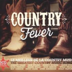 V/A - Country Fever ( 5 CD ) - Muzica Country