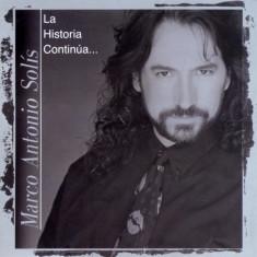 Marco Antonio Solis - La Historia Continua ( 1 CD ) - Muzica Latino