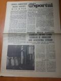 Ziarul sportul 10 martie 1977-foto si art. despre cutremurul din 4 martie