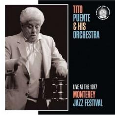 Tito Puente - Live Atthe Monterey.. ( 1 CD ) - Muzica Latino