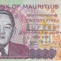 Bancnota Mauritius 25 Rupii 2013 - PNew UNC ( polimer ) - bancnota africa