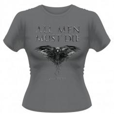 Tricou Fete Game Of Thrones - All Men Must Die
