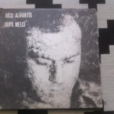 Nicu alifantis dupa melci album disc vinyl lp muzica rock folk 1979 electrecord, VINIL