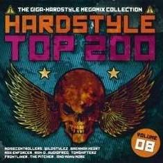 V/A - Hardstyle Top 200-8 ( 4 CD ) - Muzica House