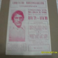 Program        UTA '71  -  UTA '81