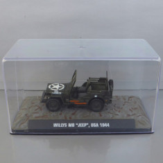 Willys MB Jeep USA 1944, 1/43