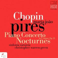 F. Chopin - Piano Concerto/Nocturnes ( 1 CD )